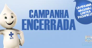 CAMPANHA ENCERRADA