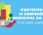 Lorena terá a 4ª Conferência Municipal da Cidade no dia 21 de junho. Participe!