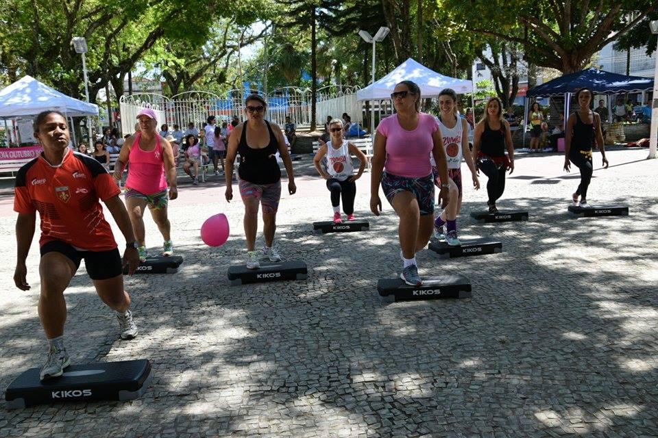 9315c899adc19 Esporte: Programação especial do Outubro Rosa no Mercadão e competições fora  de casa marcam o fim de semana