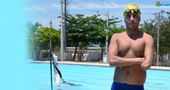 7d14a9081d526 Atleta de Lorena vai participar de competição nacional de natação  paralímpica