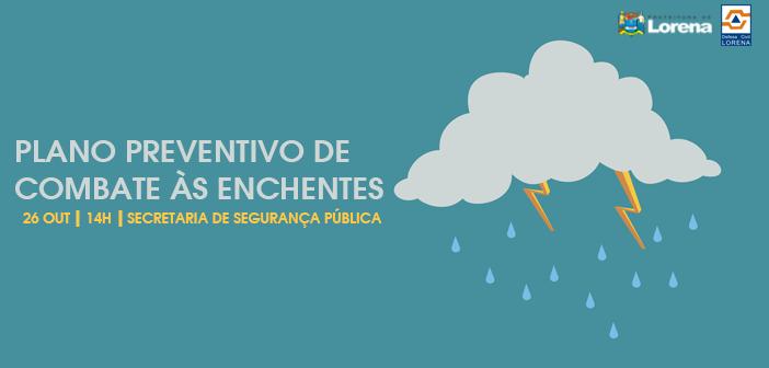 Prefeitura apresenta Plano Preventivo de Combate às Enchentes 2016/2017