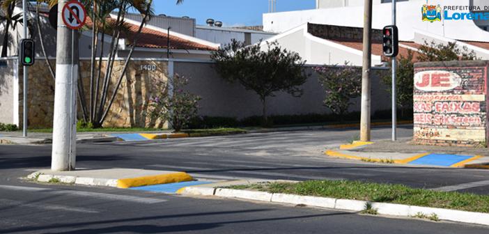 Avenida Acessível: Av. Peixoto de Castro recebe rampas de acessibilidade e adaptação nos canteiros centrais