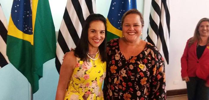 Vice-prefeita Marietta Bartelega busca novas parcerias com o Fundo Social do Estado