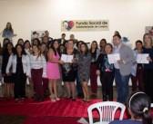 Formatura das turmas do 1º semestre do Fundo Social de Solidariedade de Lorena