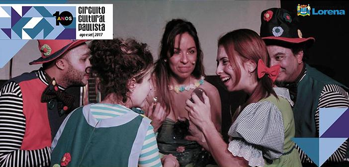 """Lorena recebe espetáculo infantil """"VerDe Perto"""", do Circuito Cultural Paulista, no próximo domingo (20)"""