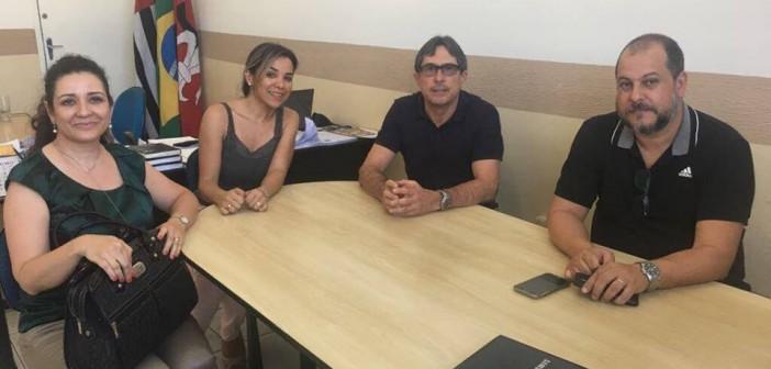 Prefeito Fábio Marcondes recebe visita de representantes do Unisal