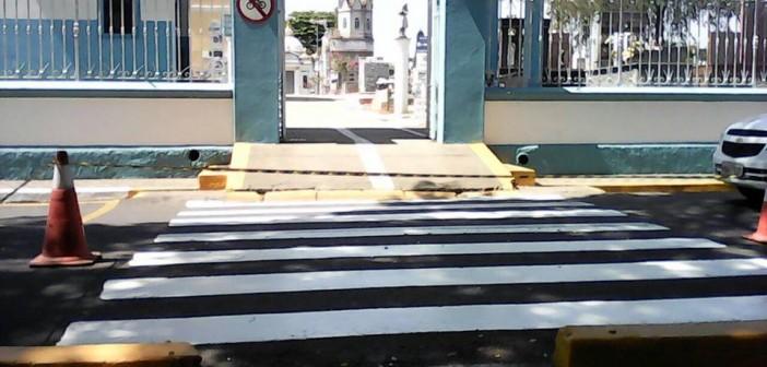 Prefeitura realiza manutenção na sinalização de trânsito