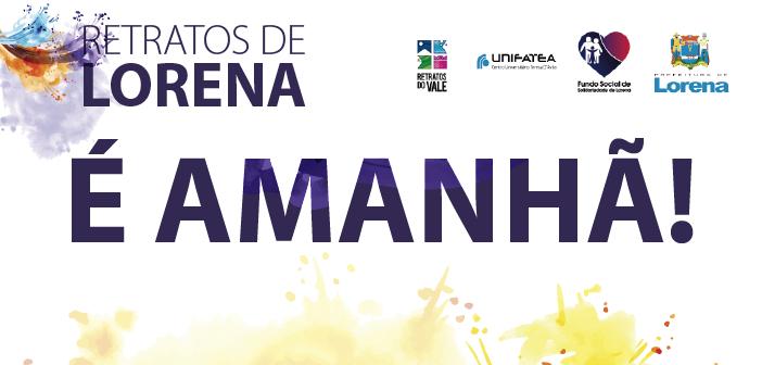 Participe da programação do 'Retratos de Lorena' neste sábado (18), no Mercadão
