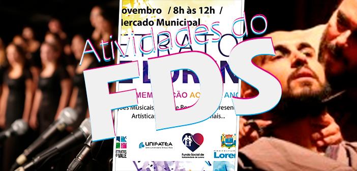 Guia Cultural: Teatro São Joaquim e Mercadão recebem programação especial no fim de semana