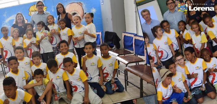 """Prefeito Fábio Marcondes participa de """"Roda de Conversa"""" com alunos do PROVIM"""