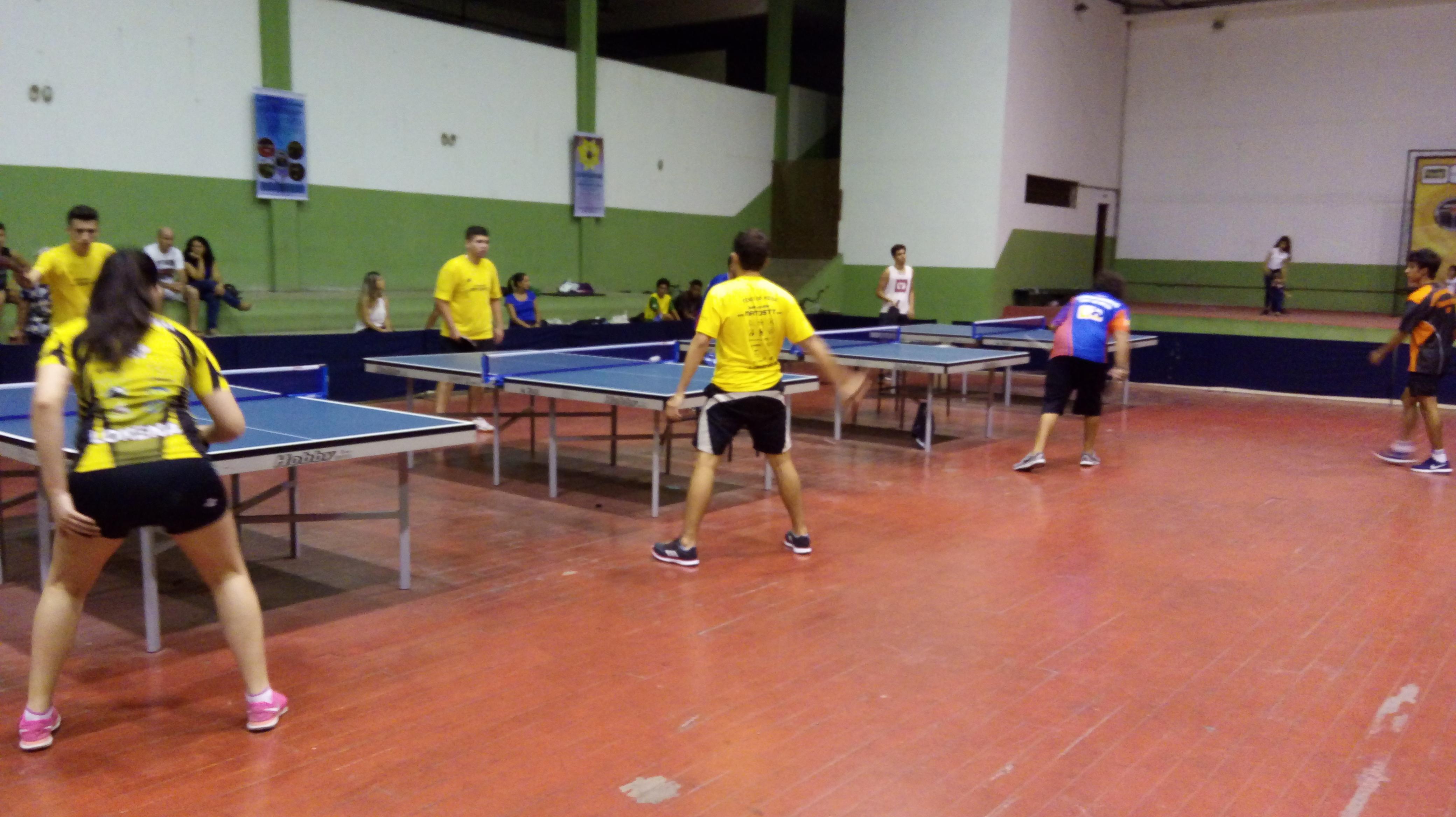 Tenis de mesa Jogos Abertos da juventude