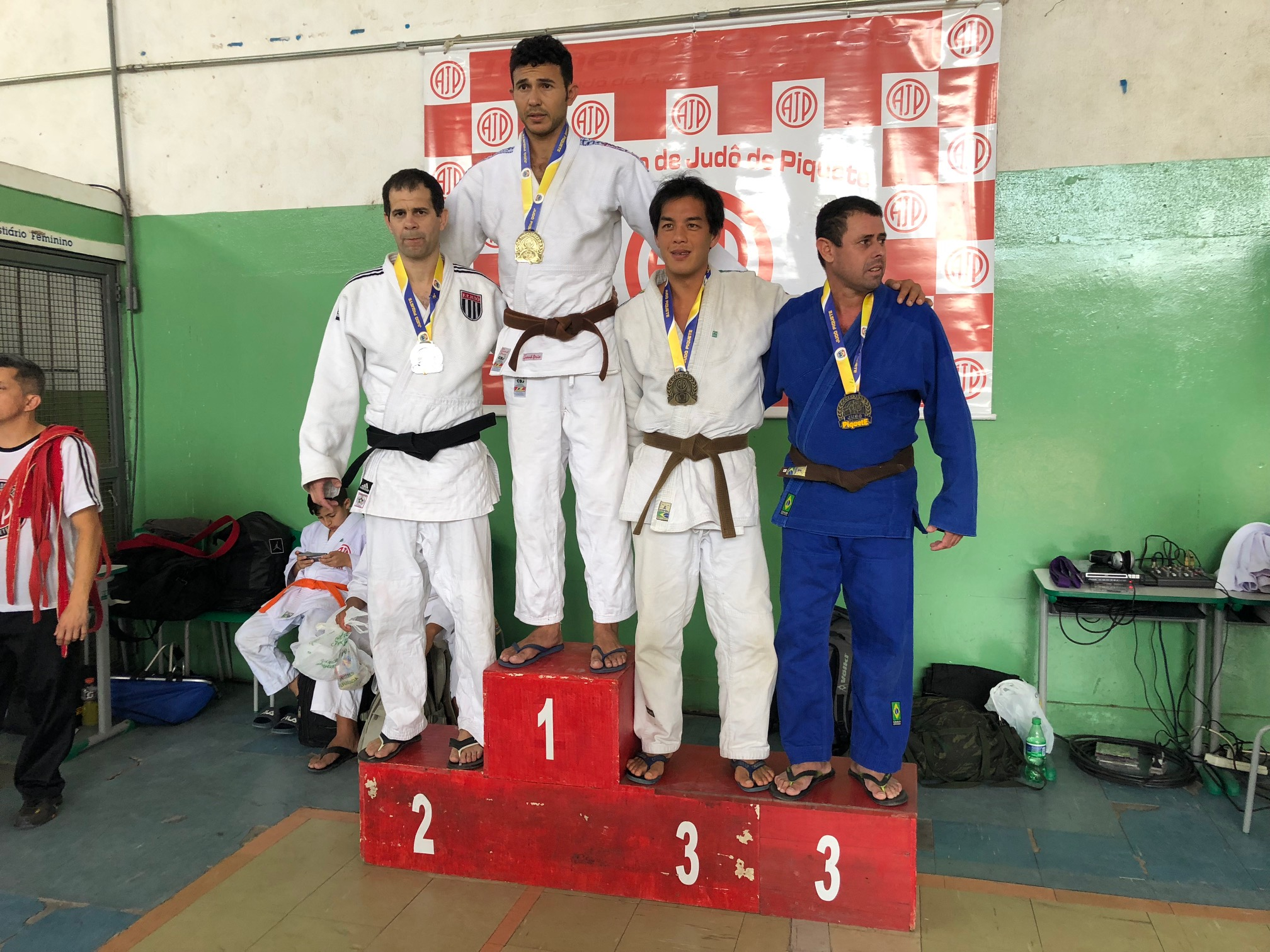 Judô atleta Fillipo