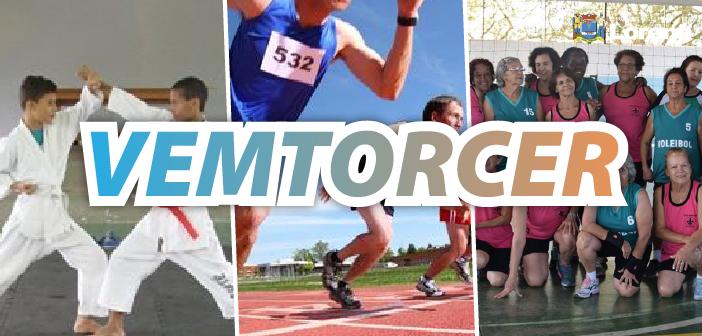 #VEMTORCER. Equipes do vôlei adaptado, atletismo e karatê participam de campeonatos neste fim de semana. Saiba Mais