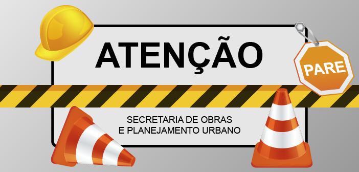 ATENÇÃO-OBRAS