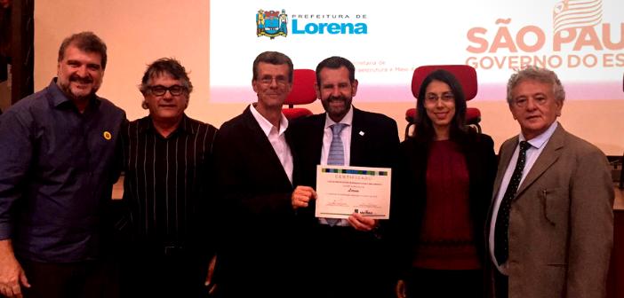 Lorena obtém qualificação para a segunda fase do Programa Município VerdeAzul 2019