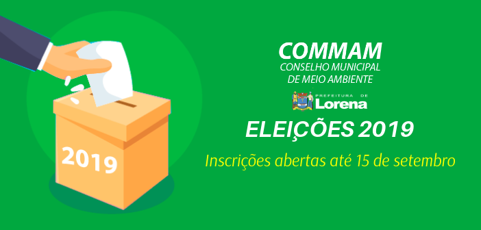 ELEIÇÕES 2019 COMMAM