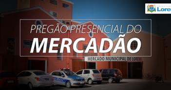 PREGÃO DO MERCADÃO 2019