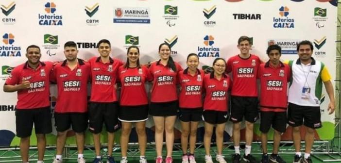 Lorena tem a 2ª melhor equipe de Tênis de Mesa do Brasil