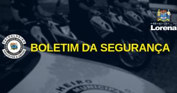BOLETIM DA SEGURANÇA