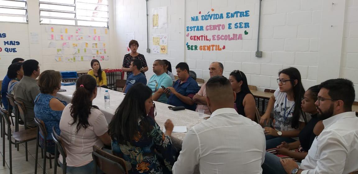 ReuniÒo com os candidatos a Conselheiros Tutelares