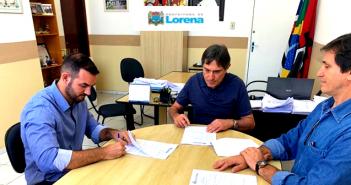 Prefeitura de Lorena assina contrato para manutenção da iluminação pública para o exercício de 2019/2020