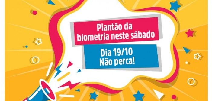 Neste sábado (19) Cartório Eleitoral de Lorena realiza plantão da biometria no Eco Valle Shopping