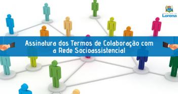 Assinatura dos Termos de Colaboração
