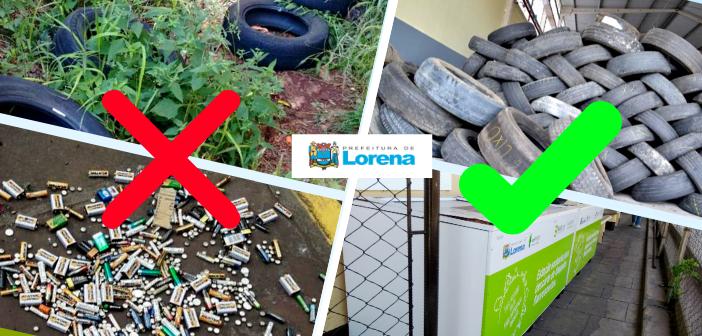 Secretaria Municipal de Meio Ambiente dá dicas para quem quer descartar seu lixo de forma sustentável