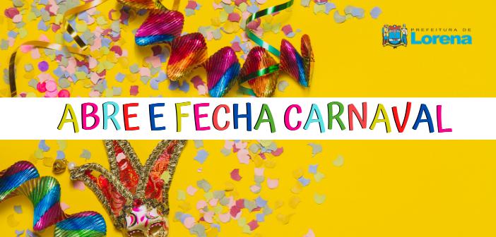 Saiba como será o funcionamento dos serviços da Prefeitura no Carnaval