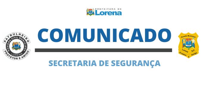 Secretaria de Segurança suspende obras do COI em razão da quarentena contra o Covid-19