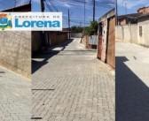 Prefeitura de Lorena entrega trabalho de pavimentação no Parque Rodovias