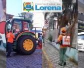 Parceria entre Prefeitura de Lorena e Farma Conde promove desinfecção nos bairros da cidade