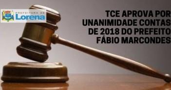 TCE APROVA, POR UNANIMIDADE CONTAS DE 2018 (1)