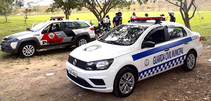GCM de Lorena e Polícia Militar realizam operação conjunta para coibir partidas de futebol em campos da cidade