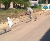 Confira o andamento das Obras de contenção do Rio Mandi