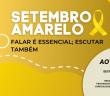 Cópia de Post Amarelo e Preto de Apoio Setembro Amarelo para Redes Sociais