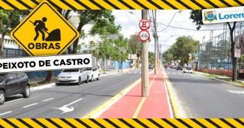 Prefeitura dá início à fase final da revitalização da Avenida Dr. Peixoto de Castro