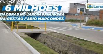 Prefeito Fábio Marcondes investe mais de 06 milhões no Jardim Primavera