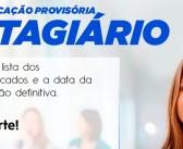 Classificação provisória de estagiários para a Prefeitura de Lorena
